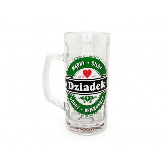 Kufel na piwo - Tradycyjnie Najlepszy Dziadek