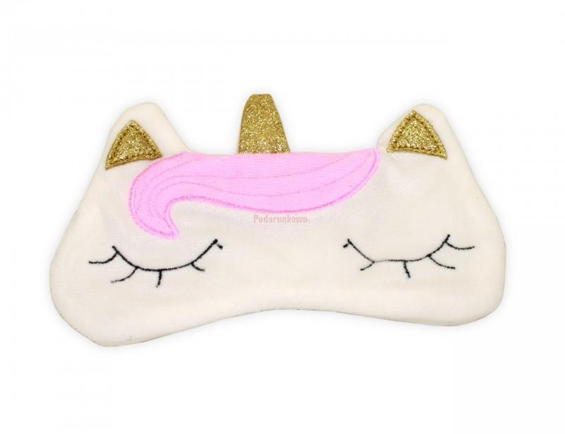 Opaska do spania z jednorożcem to wspaniały pomysł na prezent na mikołajki, który z pewnością zaskoczy i oczaruje niejedną księżniczkę.
