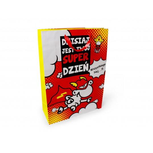 Torebka prezentowa XXL - Owieczka - Wszystkiego Naj...
