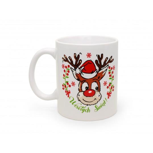Kubek na Święta - Renifer