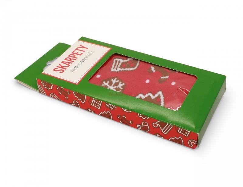 Skarpetki z napisem to udany pomysł na prezent pod choinkę, który zaskoczy i ucieszy niejednego wujka lub brata albo tatę :)