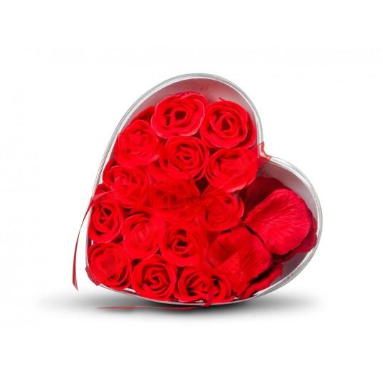 Różane Impresje - Pachnące mydełka i płatki róż