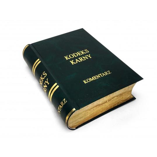 Książka na alkohol - Kodeks Karny