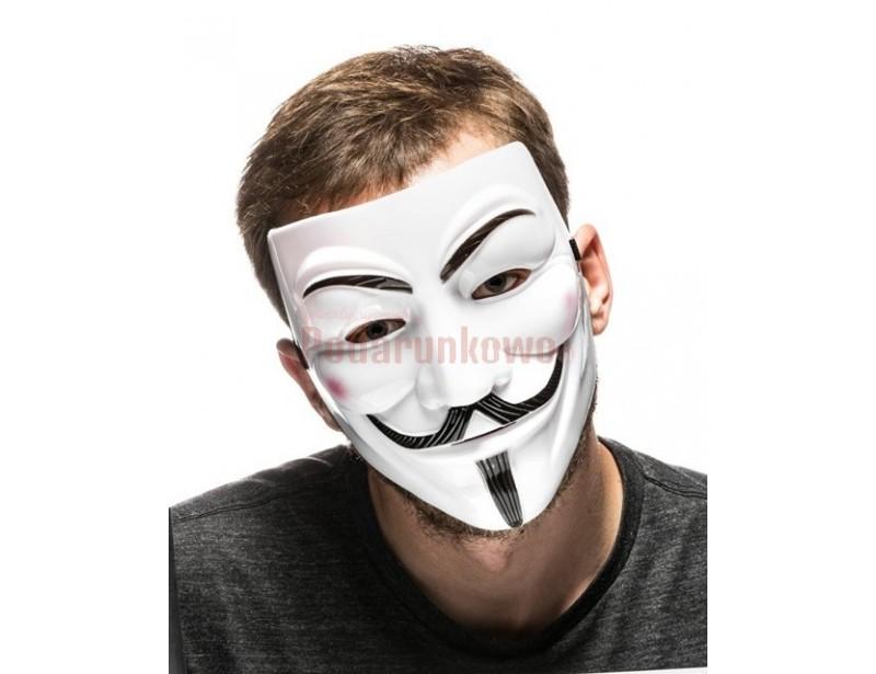 Stylowa i zabawna maska ochronna na twarz :) Każdy wygląda w niej rewelacyjnie. To śmieszny prezent na urodziny, jak również zabawny gadżet na imprezę, grilla lub spacer :)