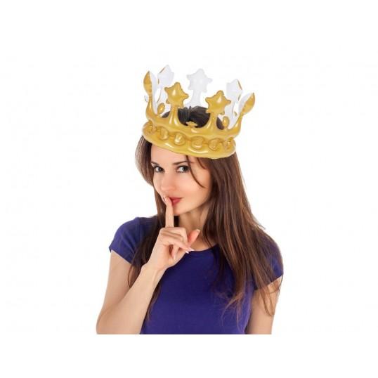 Nadmuchiwana złota korona