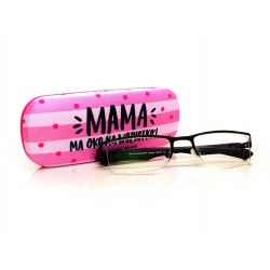 Etui na okulary Candy - Mama ma oko na wszystko