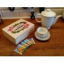 Pudełko na herbatę - Najlepsza Mama na świecie (herbaciarka)