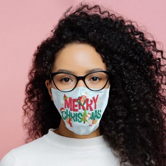 Maseczka świąteczna - Merry Christmas