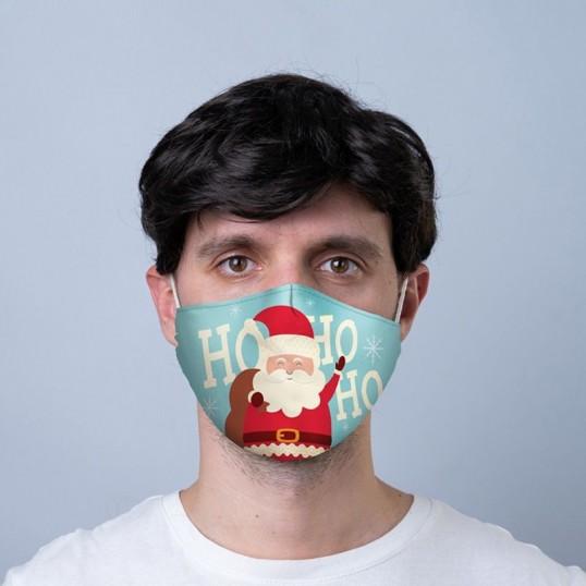 Maseczka świąteczna - Mikołaj