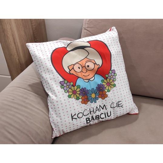 Poduszka - Kocham Cię Babciu