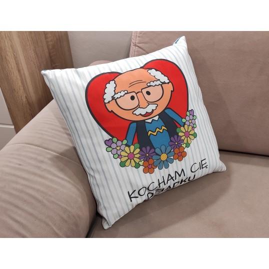 Poduszka - Kocham Cię Dziadku