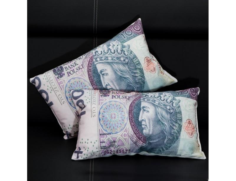 To idealny prezent dla każdego, kto marzy o tym, aby spać na pieniądzach :) Dosłownie na stuzłotówkach :) Poduszka w kształcie banknotu jest świetnym gadżetem dla biznesmenów, miłośników fortuny oraz zwykłych ludzi, którym należy się odrobina luksusu :)