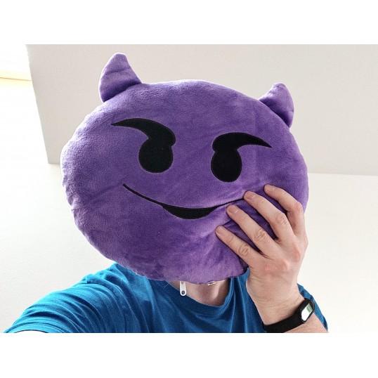Poduszka - Emotikona Diabełek