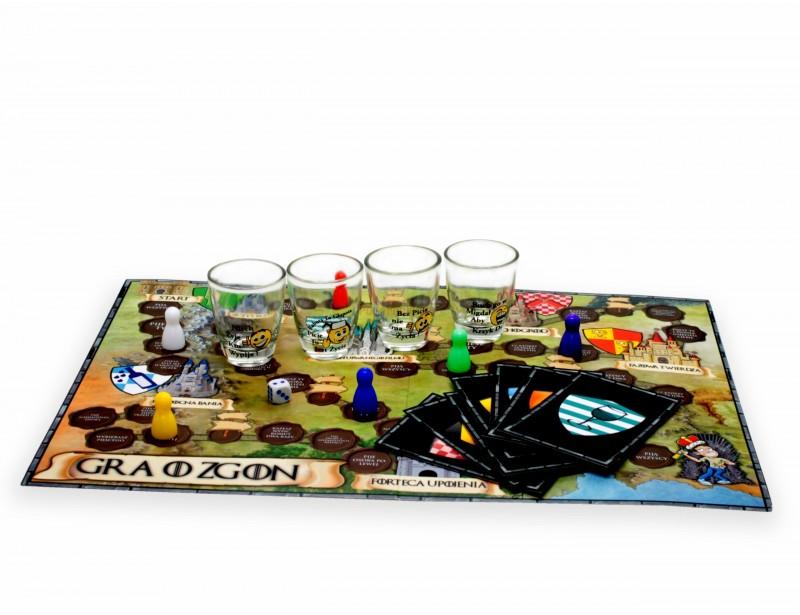 Gra przeznaczona dla wszystkich, którzy cenią sobie świetną zabawę i nie boją się nowych wyzwań. Impreza z tą grą zostanie na długo w Waszej pamięci :)
