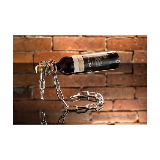Łańcuch na butelkę - Stojak na wino